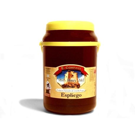 Miel de espliego - Bote 2 kg