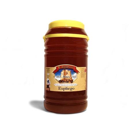 Miel de espliego - Bote 5 kg
