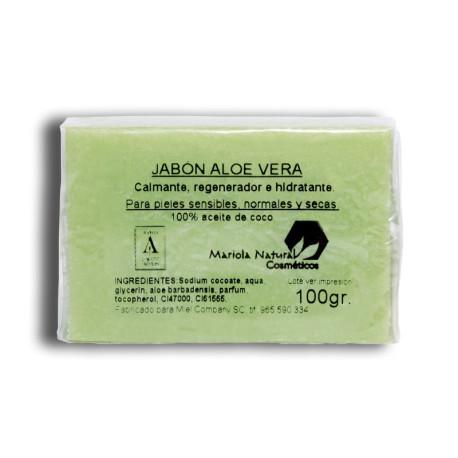 Jabón aloe vera 100 gr