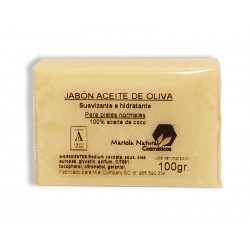 Jabón con aceite de oliva 100 gr