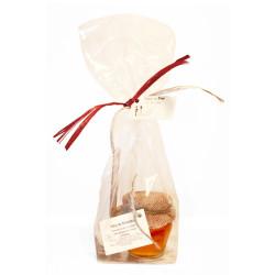 Detail, Honey jar 125 gr and honey spoon customizable