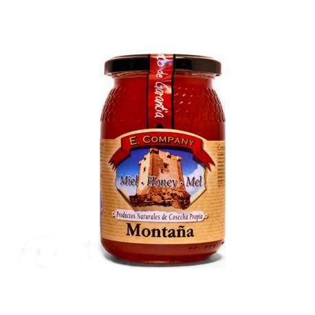 Miel de Montaña - Tarro 500 gr