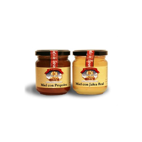Honey with propolis - Jar 250 gr
