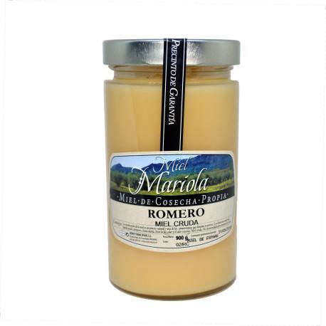Miel cruda de romero 900 gr