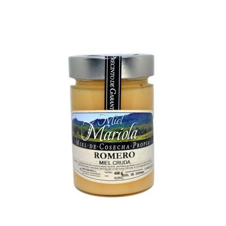 Miel cruda de romero 450 gramos