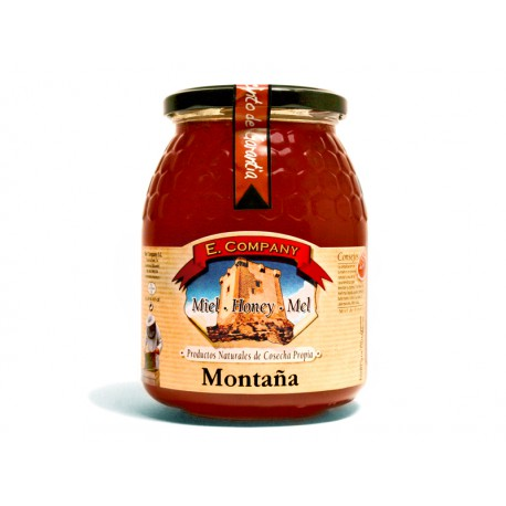 Mountain Honey - Jar 1 kg