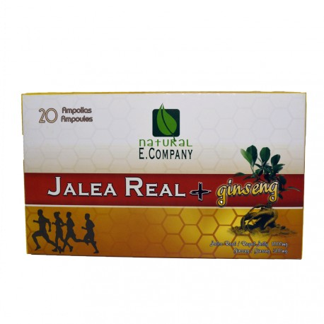 Jalea Real 1000mg.+ Ginseng 500mg.