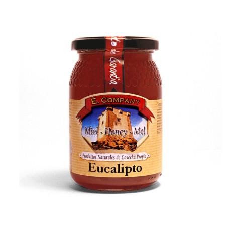 Eucaliptus Honey Jar of 500gr.