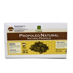 Propoleo natural masticable