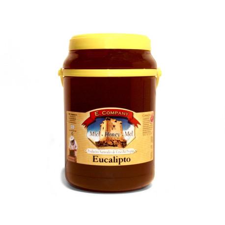 Eucalyptus Honey - Can 2 kg