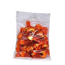 Caramelos de naranja y cúrcuma