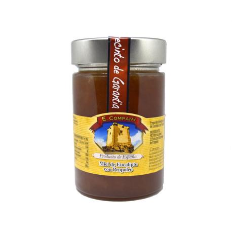 Miel de Eucalipto con propoleo 450gr
