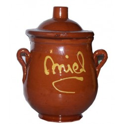 Detail for wedding - Pot ceramic honey 250grs. - Mountain Honey