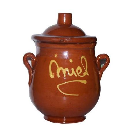 Detalle para boda - Olla miel ceramica 250grs. - Miel de Montaña