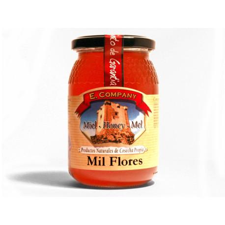 Miel Mil Flores - Tarro 500 gr.