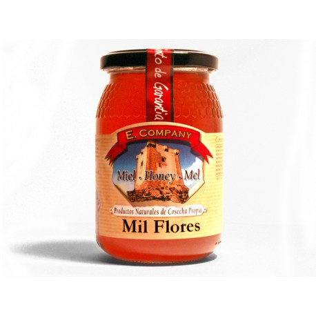 Milflores Honey - Jar 500 gr