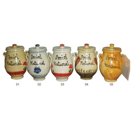 Detail for wedding - Pot ceramic honey 125grs. - Mountain Honey