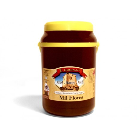 Milflores Honey - Can 2 kg