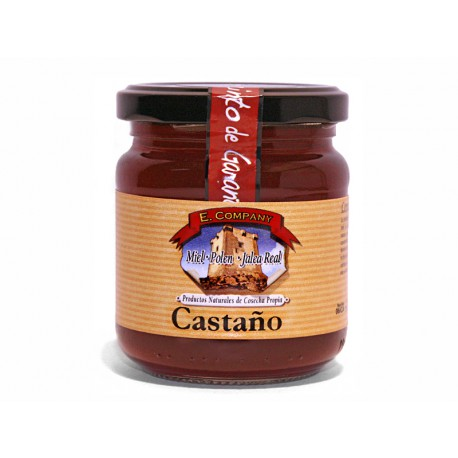 Miel de Castaño- Tarro 250 gr