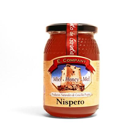 Miel de Níspero- Tarro 500 gr