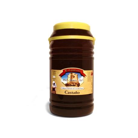 Miel de Castaño - Bote 5 kg