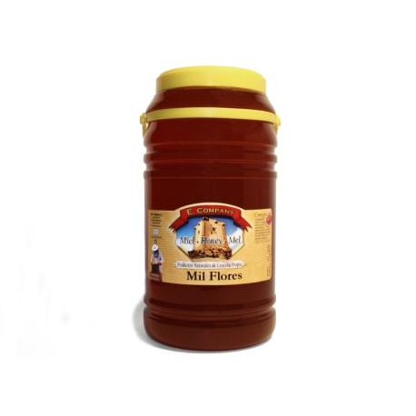 Miel de Milflores - Bote 5 kg