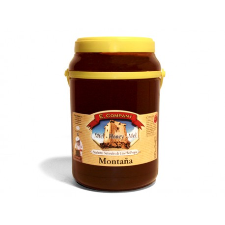 Mountain Honey - Can 2 kg