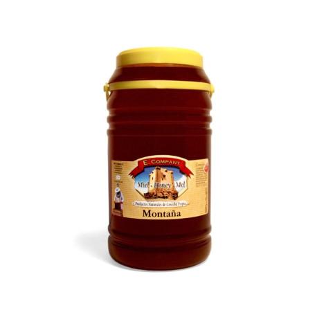 Miel de Montaña - Bote 3 kg