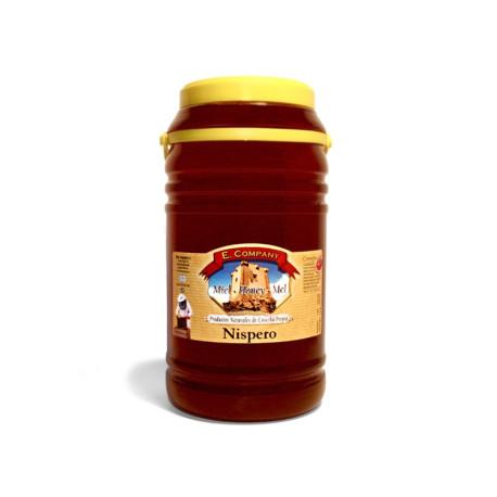 Miel de Níspero - Bote 5 kg