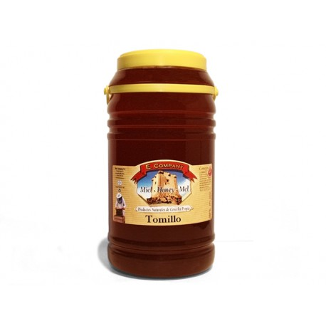 Thyme Honey - Can 3 kg
