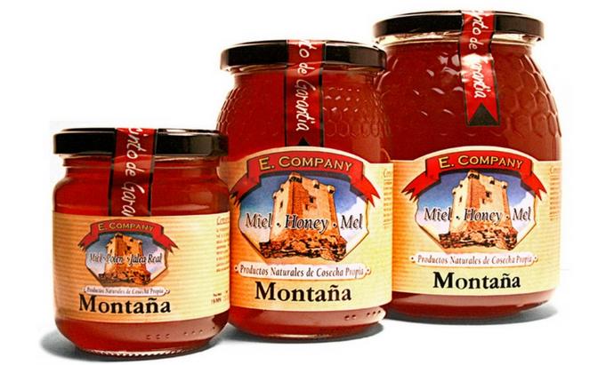 Miel de montaña-varios
